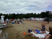 Songo River Beach Sebago Lake